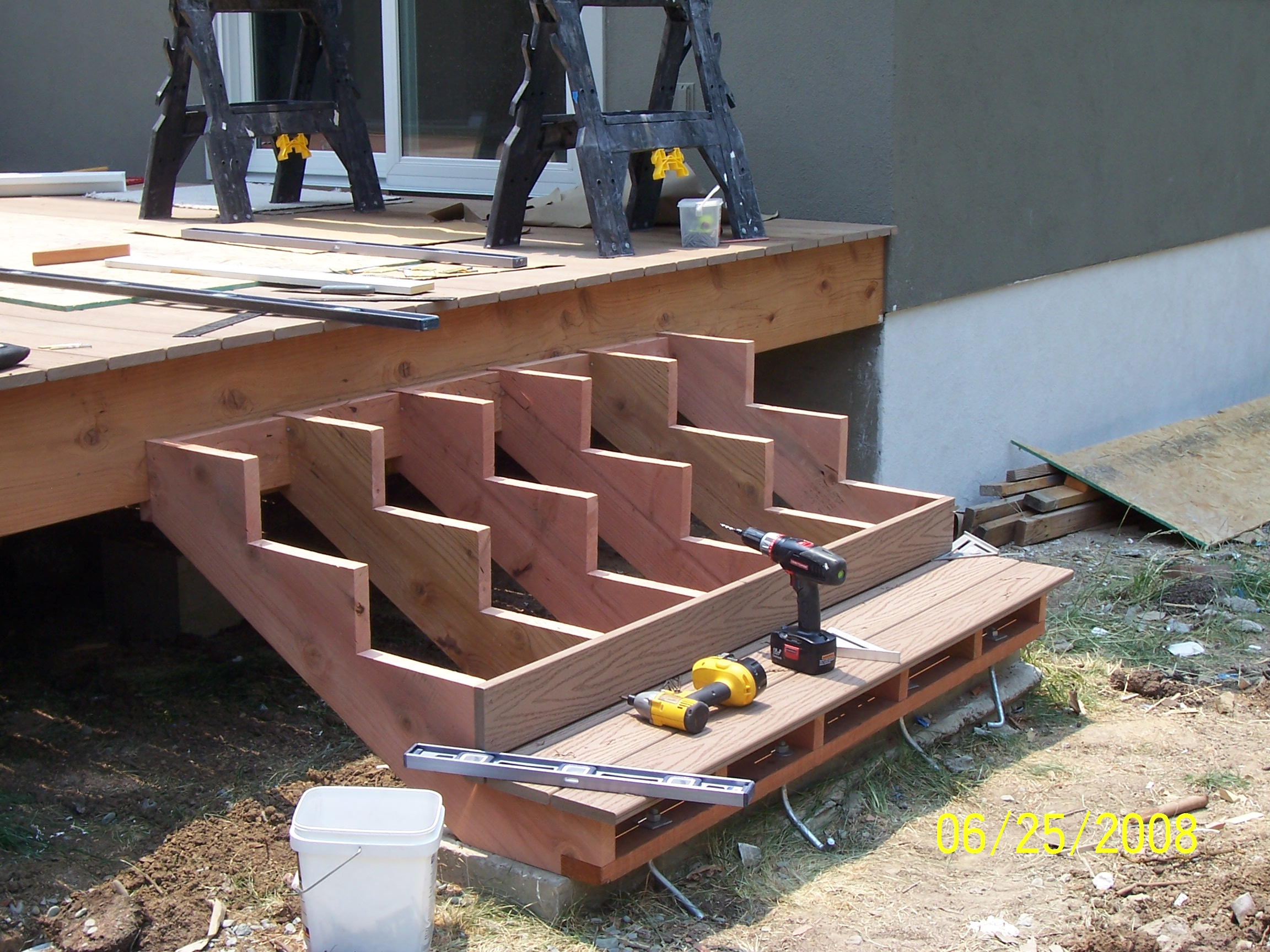 Deck steps joy studio design gallery best design for First step to building a house